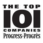 Progress Top 101 Companies 12 Time Winner